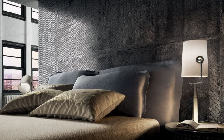 Boss Metallic Grey from Stage by Diesel Living and Iris Ceramica