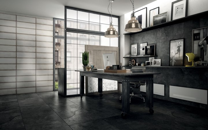 Industrial Glass White by Diesel Living and Iris Ceramica