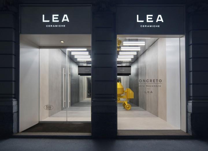 Concreto by Ceramiche Lea at Fuorisalone, Milan