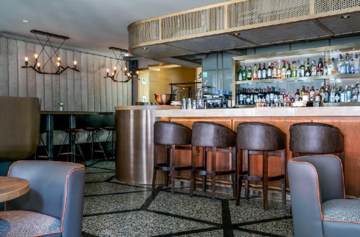 Diespeker & Co's bespoke terrazzo installation at the Osh restaurant in Knightsbridge