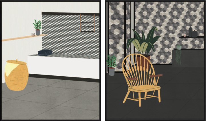 OEO Studio's design drawings for Mutina Accents