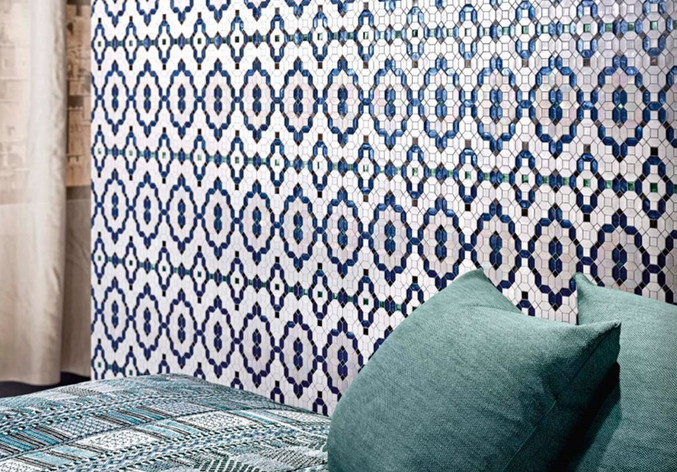 The Crystal mosaic collection by Sicis