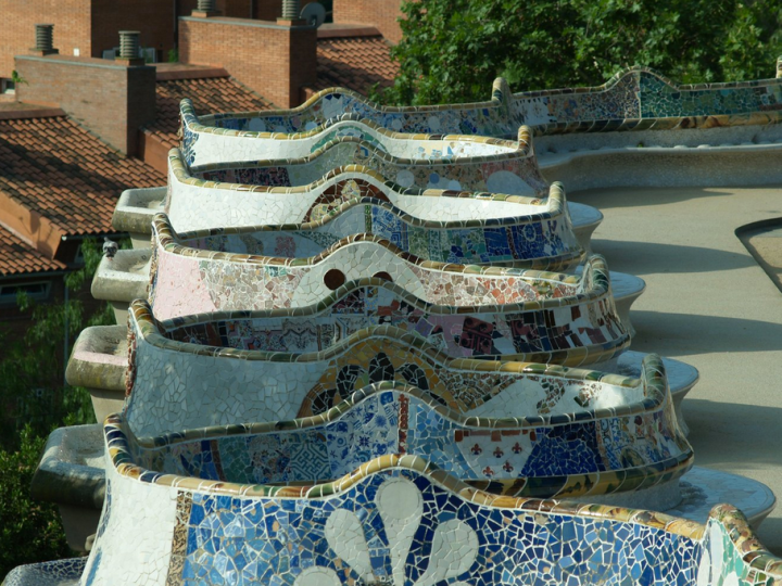 Parc Guell Restoration by Ceramica Cumella