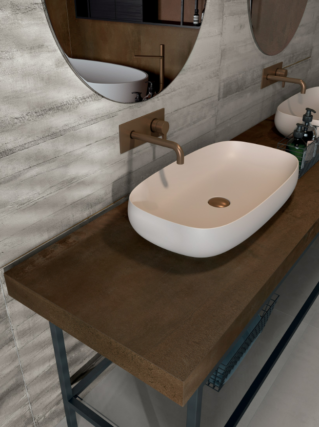 Example of ABK's Bath Design collection