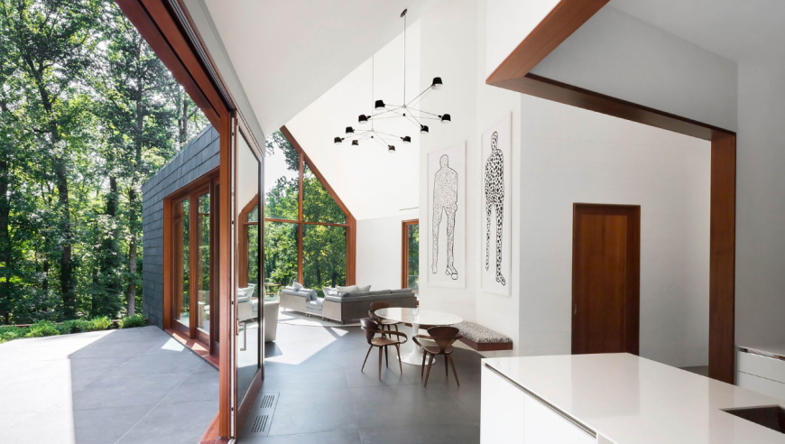 ZigerSnead Baltimore Slate House by Ziger/Snead Architects