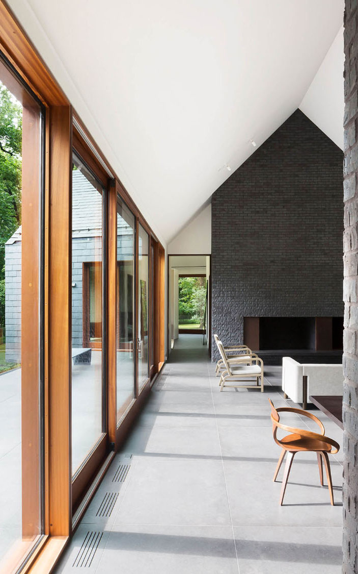 Slate House, Baltimore by ZigerSnead Architects. Photography Jennifer Hughes & Adam Rouse