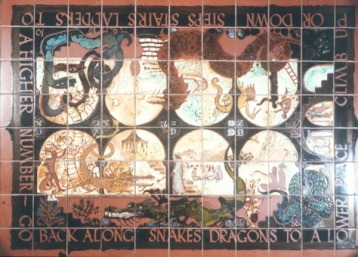 Snakes and Ladders floor detial