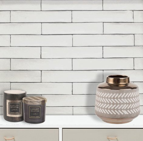 Bricked Bianco from Alteret (50x270mm)