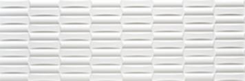 Millenium Rubik Blanco Brillo from Keraben (300x900mm)
