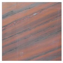 Polished Pink Marble Slab for use on kitchen work surfaces