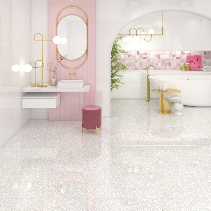 Hanami Rosa wall tiles from VIVES