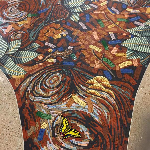 redwood mosaic gary drostle