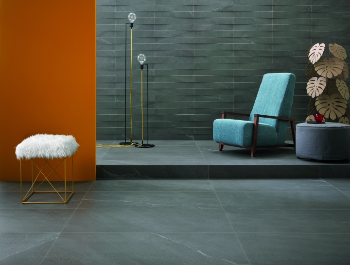 Chorus Grey from Ceramiche Keope large format slabs