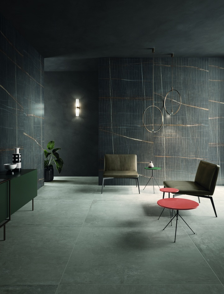 Eclectic Pinstripe Dark from Keope