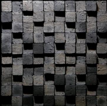 Arare Super Small (115mm by 115mm by 5-9mm) Koyo Ibushi Ibushi Kawara clay tiles