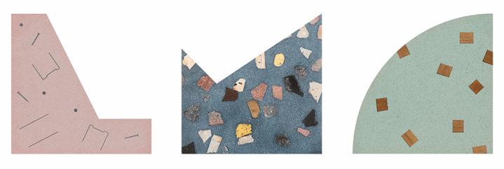 Huguet terrazzo selection Clerkenwell Design Week new collection collaboration Benoy