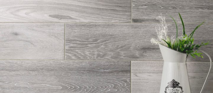 wood look porcelain Nouveau Silver from Nemo Tile plank