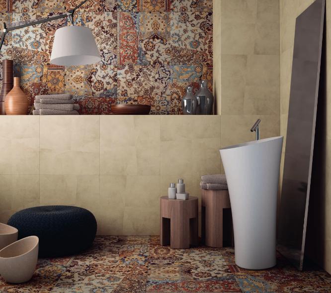 Tabriz Horus Art Ceramiche italian tile design porcelain