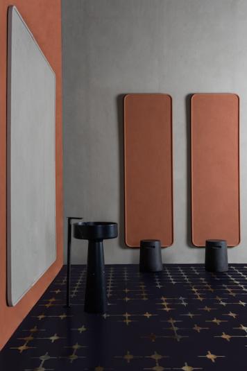 Eclettico Arazzi Matteo Brioni Studio Irvine clay panels