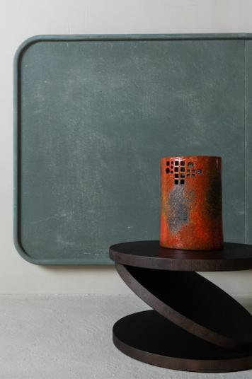 Minimale Arazzi Matteo Brioni Studio Irvine clay panels