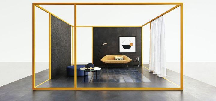 Shades Night (300x600mm), Night Wash (300x600mm), and Night Net (300x600mm) Ceramiche Piemme tile range NYCxDESIGN