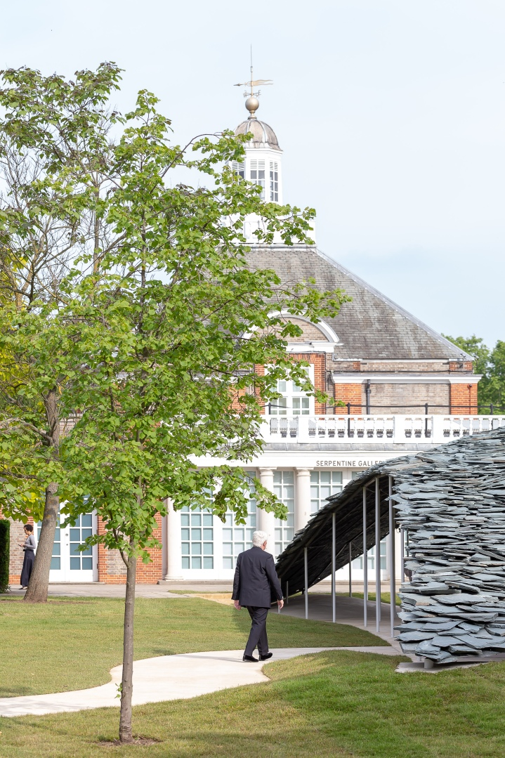 Serpentine Pavillion Junya Ishigami slate design architecture