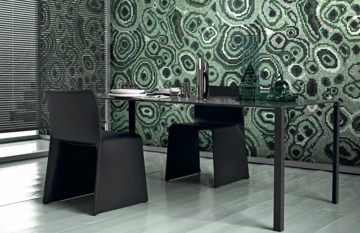 Greg Natale composite bisizza glass mosaic design