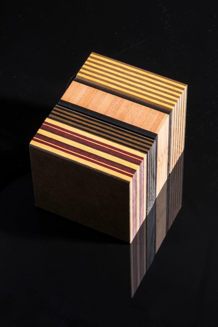 compressed paper and wood recycled surface