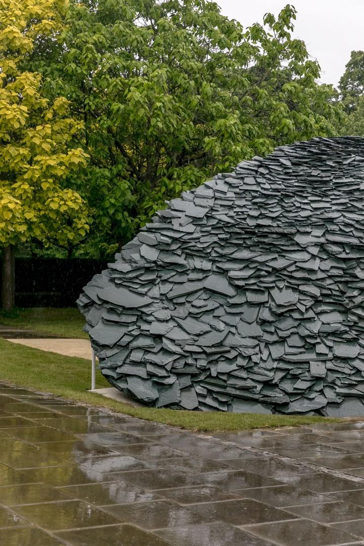 Serpentine Pavilion Junya Ishigami slate design architecture
