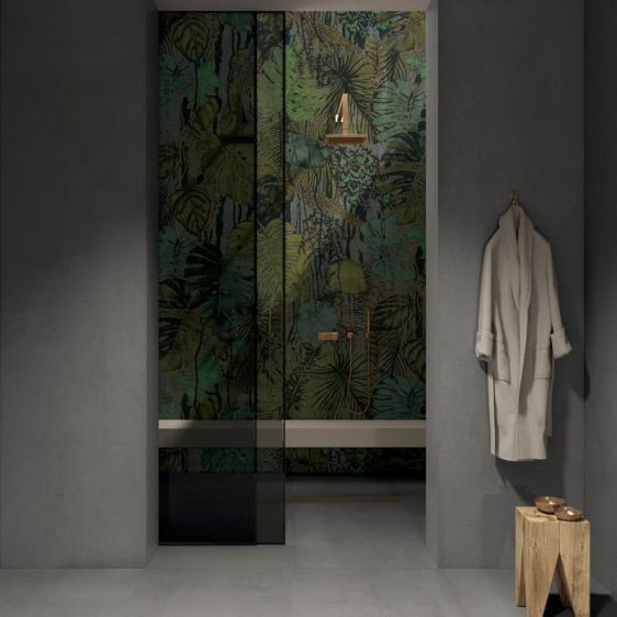 Forest from Wide&Style ABK CasaCeramica ceramic wallpaper tropicl designs