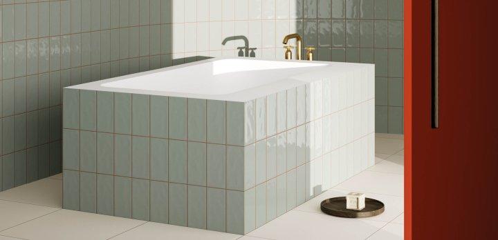tile trend ceramics of italy Mastice Materia in glass from Ceramica Vogue