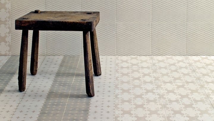 Azulej Grigio combination (200x200mm) Patricia Urquiola Mutina tile collection Flores Estrela,