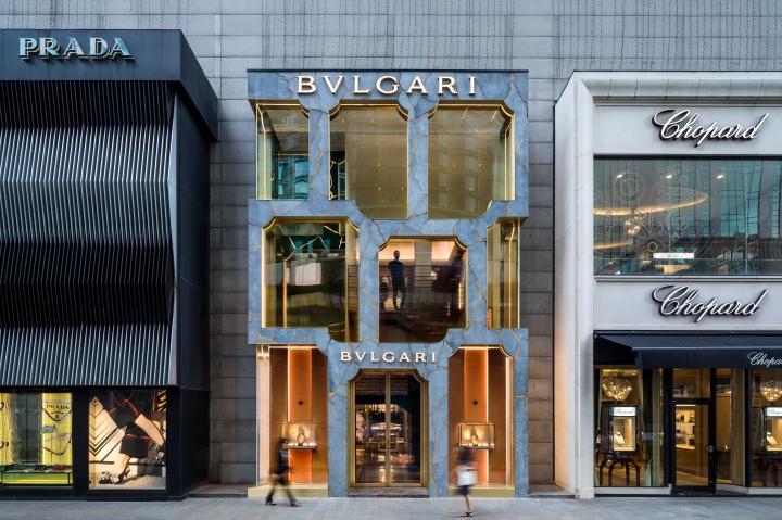MVRDV Bulgari exterior facade design