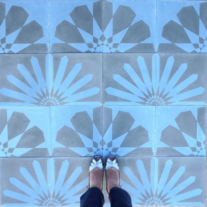 Kismet alba Kismet cement tile design