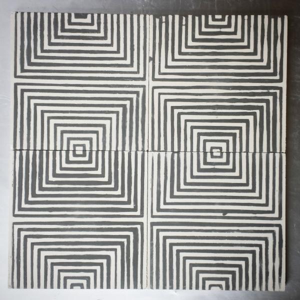 """Kismet Scheherazade (8""""x8"""") Kismet tile cement tile"""