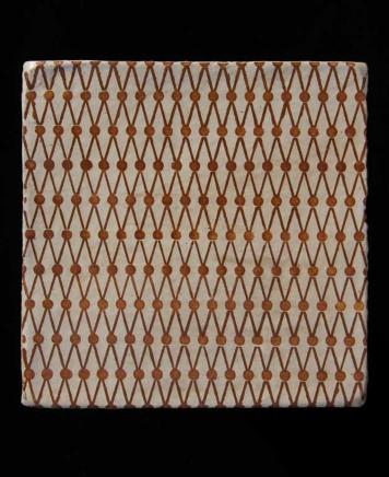 Haveli Lattice by Neisha Crosland tile design fired earth