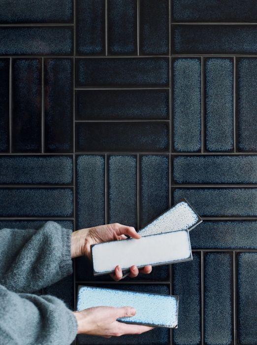 Claybrook Studio Raku glazed tiles