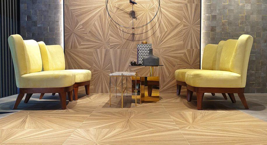 Aracana wood look tiles oriental wood cersaie 2019