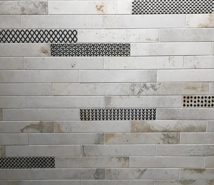 Skinny format tiles trend cersaie 2019 ceramica rondine