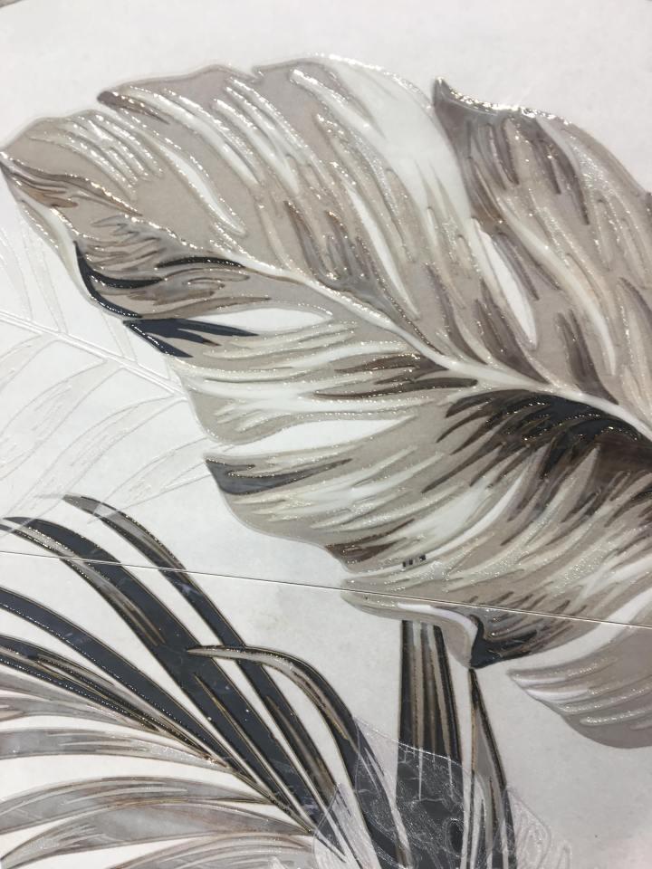 APE Grupo Cersaie tile Silk Collection Decor Set (3) Marbella