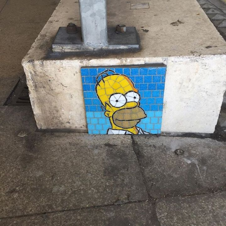 vigilante tiler street art tile mosaic will rosie
