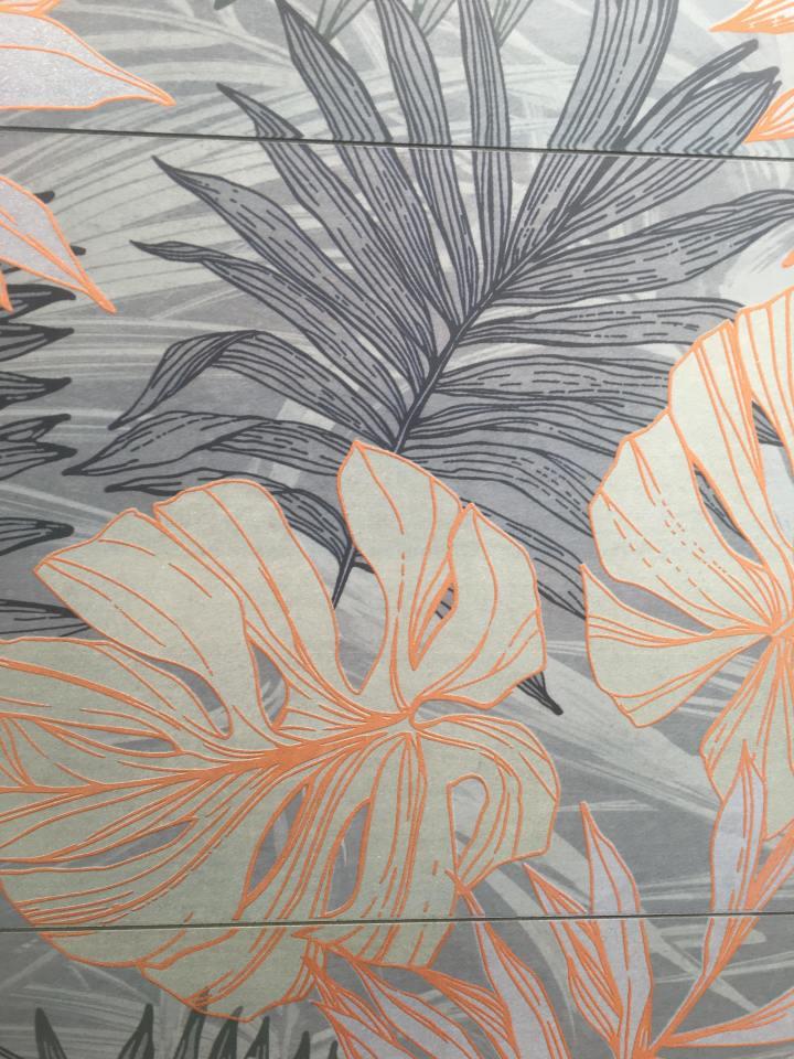 jungle print tiles polis ceramiche jungle azzurro