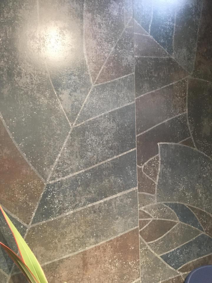 Cersaie stone look jungle effect tile cersaie 2019