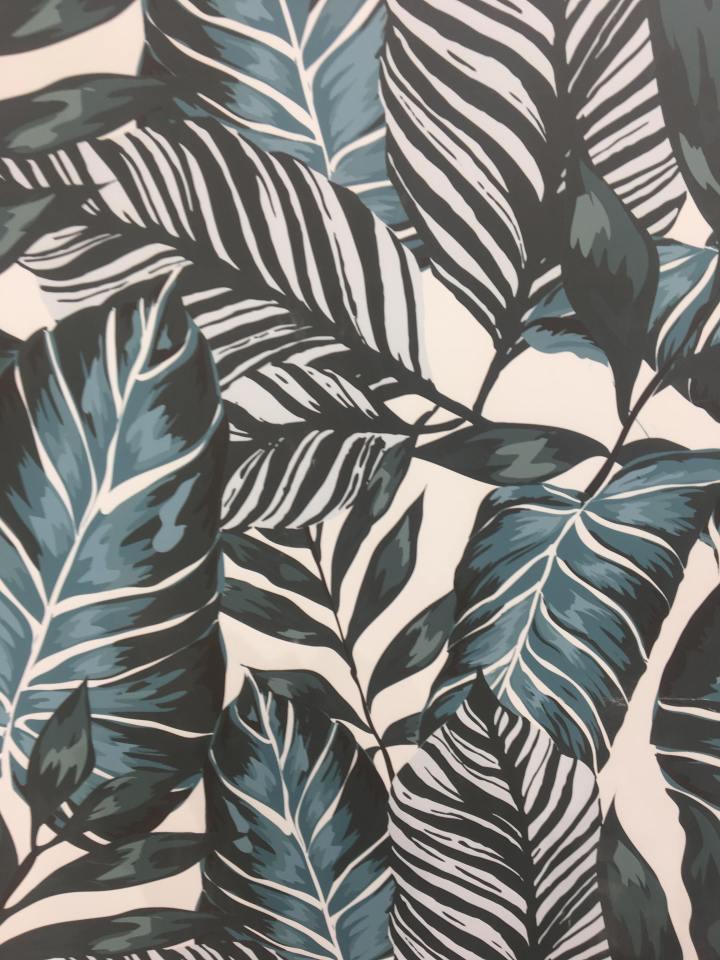 Ceracasa leaf print tile