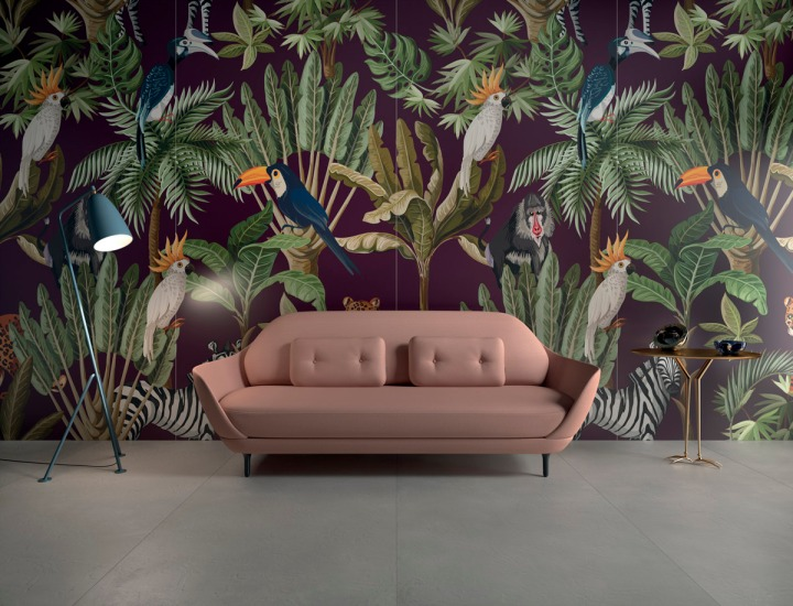 Cersaie 2019 tropical imagery granitifiandre design your slabs