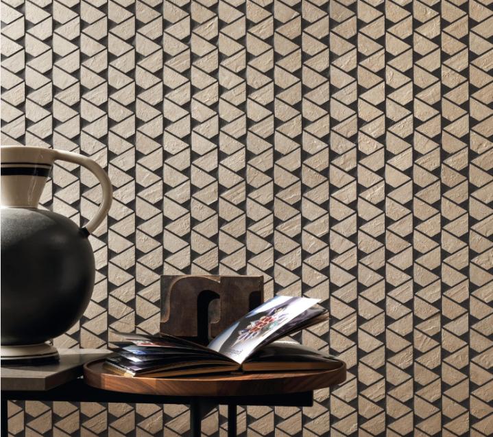 heavily grouted mosaic atlas concorde cersaie 2019