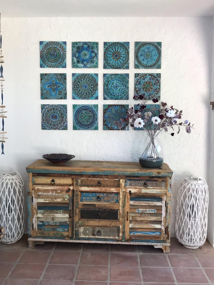 G Vega hand crafted ceramic tiles