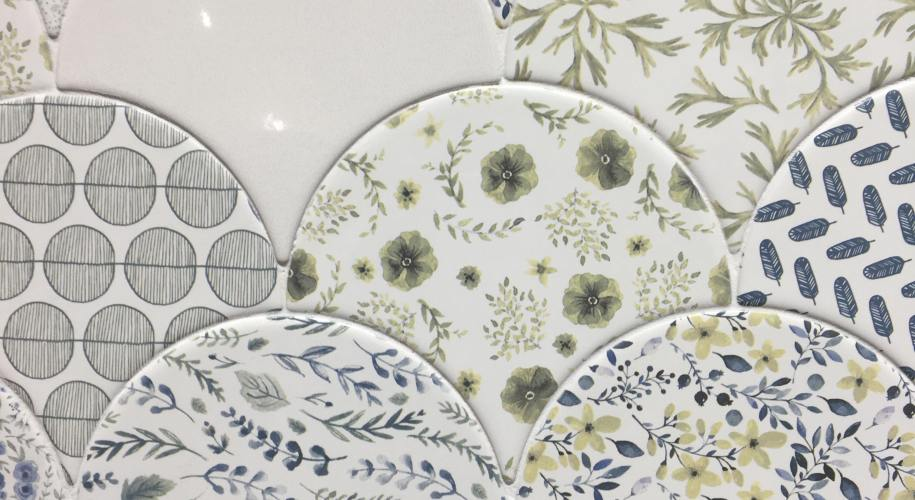 floral tile trend jazz mix cevica fishscale
