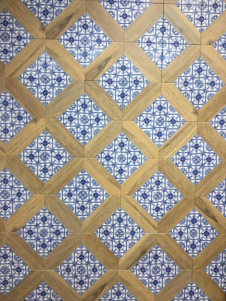 Capri Blue from Nexo wood look tiles 2020