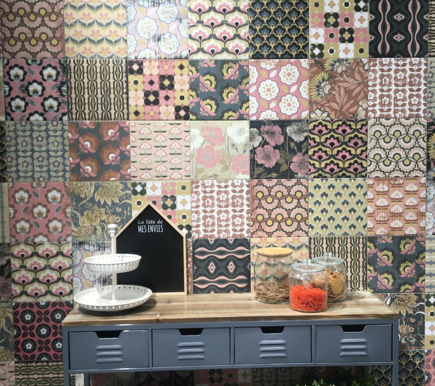 Ike Summer from Codicer 70s retro tile trend 2020